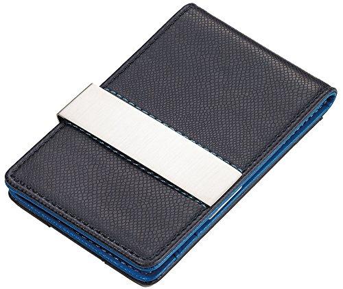 Troika Porta carte di credito, Dark Blue/Sky Blue (Blu) - CCC18/BL