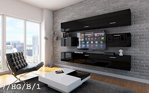 Homedirectltd Future 7 Wohnwand Anbauwand Wand Schrank Tv Schrank
