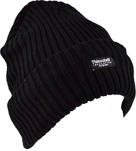 5starwarehouse-r-cappelli-stile-balaclava-sas-open-face-termico-panno-incluso-chunky-knit-hat-black