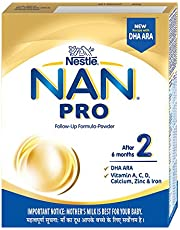 Nestle  NAN PRO 2 Follow-Up Formula-Powder (After 6 months), Stage 2- 400g Bag-In-Box Pack