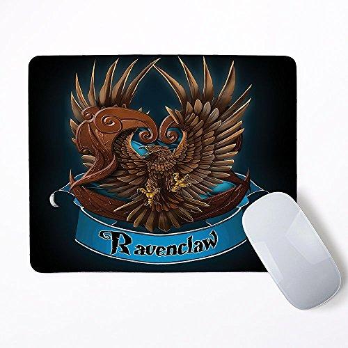 Harry Potter casa Ravenclaw ratón alfombrilla de ratón almohadilla de goma mp-0039(Rectángulo 81/4x 63/4pulgadas)
