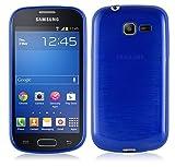 Cadorabo Coque pour Samsung Galaxy Trend Lite en Bleu – Housse Protection Souple en...