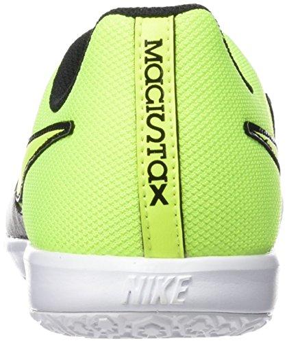 Nike  JR Magistax Pro IC, Herren Fußballschuhe DUSTY GREY/DUSTY GREY/(VOLT)