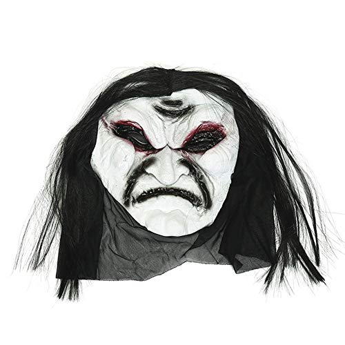 or Scary Zombie Maske Heikles Gesicht Spielzeug Make-up Party Party Dress up Requisiten ()