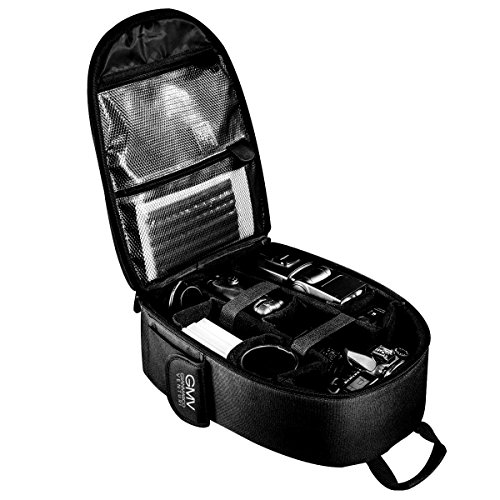 Zaino per Fotocamera Reflex SLR e Accessori + Cover impermeabile GianMarcoVenturi (Nero)