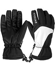 Skihandschuhe, HiCool Ski-/Snowboard-Handschuhe Sporthandschuhe Winterbekleidung Thermohandschuhe für Herren Damen