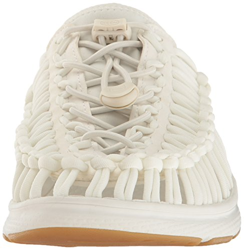 Keen Uneek O2 W, Sneaker À Collo Basso Donna White / Harvest Gold