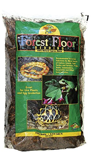 Zoo Med CM-8E Forest Floor, 8.8 L, Zypressen Mulch Bodengrund für Terrarien