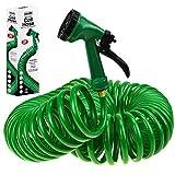 ASAB Retractable Coil Expandable Pipe Spring Design | 5 Function Spray Gun Nozzle