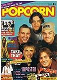 Popcorn 1993 Nr. 6 , mit Riesen-Poster von Take That (komplett) (Das Monatsmagazin für junge Leute)