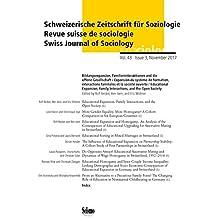Bildungsexpansion, Partnerschaft und Familie (Schweizerische Zeitschrift für Soziologie)