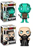Funko Pop! Hellboy: Abe Sapien + Rasputin – Stylized Vinyl Figure Set New