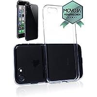 Hochwertige iPhone 8 TPU Hülle Premium Schutzhülle – Luxus Crystal Case Durchsichtig Klar Silikon transparent Cover zum optimalen Schutz Ihres Apple iPhone-8 - Movoja