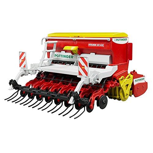 Image of Bruder Pottinger Vitasem 302ADD Harrow Mounted Seed Drills