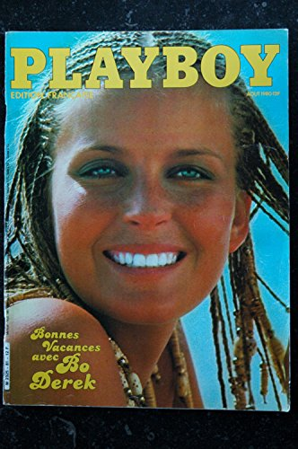 PLAYBOY 081 N° 81 JACQUES BOURBOULON EROTIC VICTORIA COOKE BO DEREK ALL NUDES 80