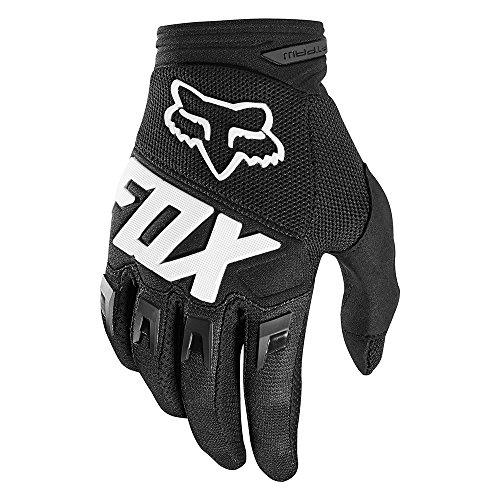 Fox Guantes Dirtpaw Race, Black, tamaño 3 x l