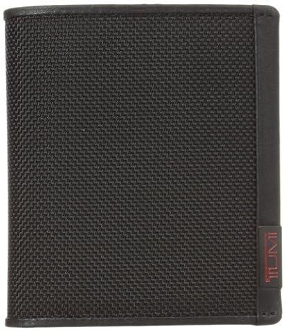 Tumi Alpha Slimfold ID Wallet, Black (Black) - 19238