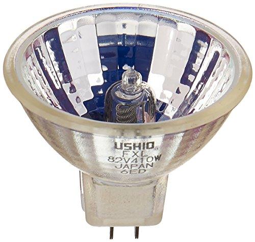 Ushio geliefert wird BC25451000636–FXL–Stage & Studio–MR16–Overhead Projektor–410W Leuchtmittel–82V–GY5.3Boden–3300K (410 Studio)