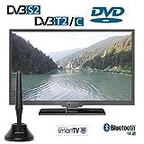 Alphatronics SL-19 DSBI+ 49 cm (19 Zoll) TFT-LED-Flachfernseh-DVD-Kombination
