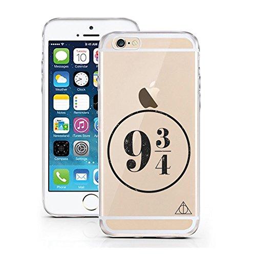 iPhone 6 6S Hülle von licaso® für das Apple iPhone 6 6S aus TPU Silikon Better Latte Kaffee Becher To Go Muster ultra-dünn schützt Dein iPhone 6S & ist stylisch Schutzhülle Bumper Geschenk (iPhone 6 6 Gleis 9 3/4