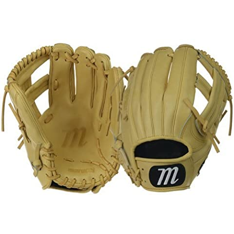 Marucci Founders Series Single Post Infield Gloves, Camel, 11.75
