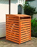 Promadino Mülltonnenbox Vario III für 1 Tonne