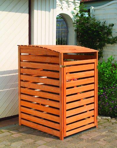 *Promadino Mülltonnenbox Vario III für 1 Tonne*