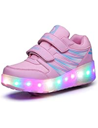 NiñO Jazzy JúNior Girls & Boys NiñOs De Luz Led TamañO Roller Skate Shoes Sneakers Para NiñOs Con Ruedas Individuales
