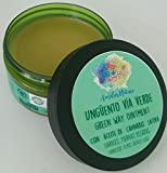 Ungüento Vía Verde - Crema para varices y piernas cansadas e inflamadas - 100% natural y artesanal - 100 ml