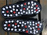 CanVivi Fußreflexzonen Schuhe Herren Massage Sandale Fitness Schuh
