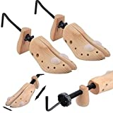 SHOE STRETCHERS TREE WOODEN OR MEN EXPANDABLE SHAPE BUNION CORN BLISTER FOR MOST OF THE SHOES.