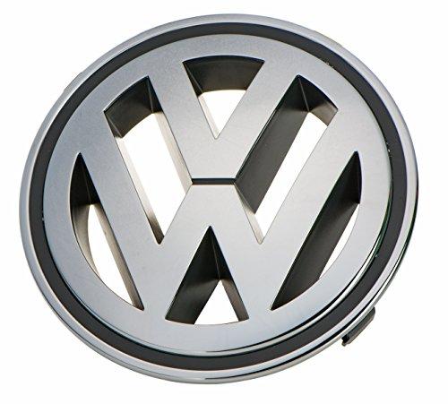 Original Volkswagen VW Ersatzteile VW Zeichen Emblem Kühlergrill 150mm (Golf V Jetta Passat)