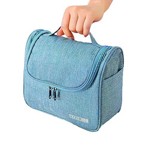 Watopi Trousse sac trousse de toilette cosmétiques, avec crochet et poignée