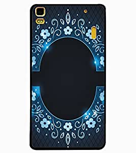 ColourCraft Beautiful Pattern Design Back Case Cover for LENOVO A7000