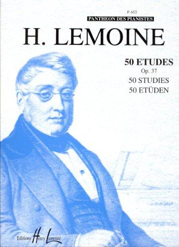 Etudes Faciles (50) Op.37 par Henry Lemoine