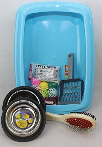 cat-kitten-starter-kit-with-42cm-litter-tray-clean-n-tidy-blue