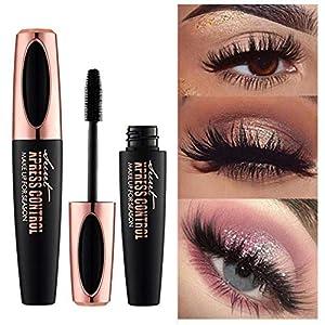 4d seda Fiber de pestañas Mascara extensión maquillaje negro Kit impermeable al agua pestañas yiitay Mascara crema…