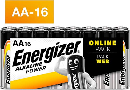 Energizer Pack de 16 PilesAA Energizer Alkaline Pow