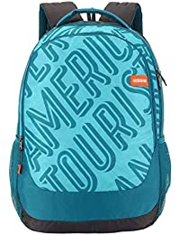 American Tourister Popin 31 Ltrs Teal Casual Backpack (FU4 (0) 11 001)