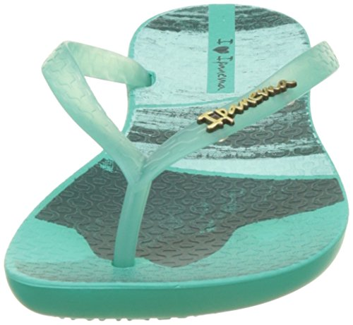 Ipanema Wave Tropical Fem, Tongs Femme Vert (Green/Green)