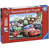 Ravensburger 10615 - Disney Cars: Brisantes Rennen - 100 Teile XXL Puzzle