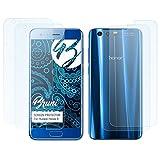 Bruni Protecteur d'écran pour Huawei Honor 9 Film Protecteur - Set de 2 cristal clair Film Protection d'écran