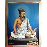 Crispy Deals Thiruvalluvar Photograph Print for Home and Office
