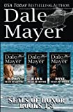 SEALs of Honor: Books 1-3: Mason, Hawk and Dane