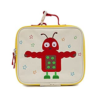 Pink Lining Childs Insulated Lunch Box / Bag - Design Arnold The Alien