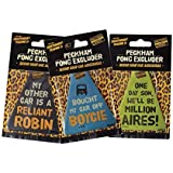 Only Fools & Horses Peckham Pong Excluder Car Air Freshener - One Supplied