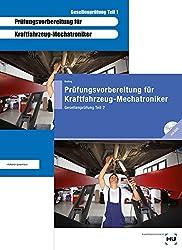 Prüfungsvorbereitung für Kraftfahrzeug-Mechatroniker Gesellenprüfung Teil 1 + Gesellenprüfung Teil 2: Zwei Bücher zum Paketpreis