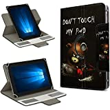 Universal Tablet Funda para 10–10.1pulgadas Case Cover Bag piel de imitación