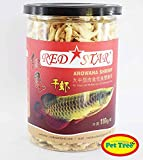 #2: Pettree Arowana Shrimp Fish Food 110gm - RedStar
