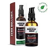 Bartöl (50ml) · BROOKLYN SOAP COMPANY · Bart Öl für die tägliche Bartpflege von 3-Tage-Bart oder Vollbart · Beard Oil als Geschenk für Männer und für die Reise